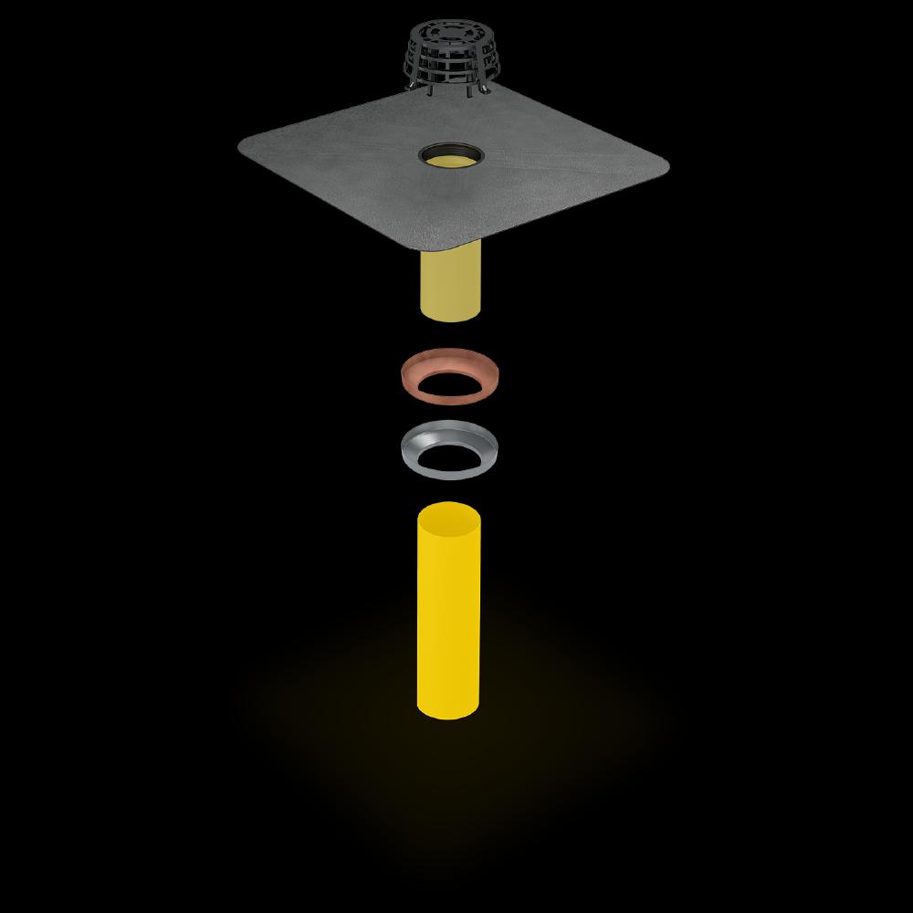 SitaCarport - Sicher entwässern bei sauberer Optik.