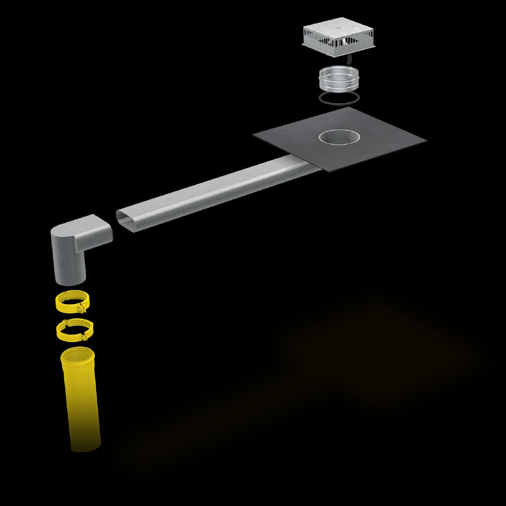 SitaSteel Attika quadrat - Extrem langlebig. Vielseitig einsetzbar.