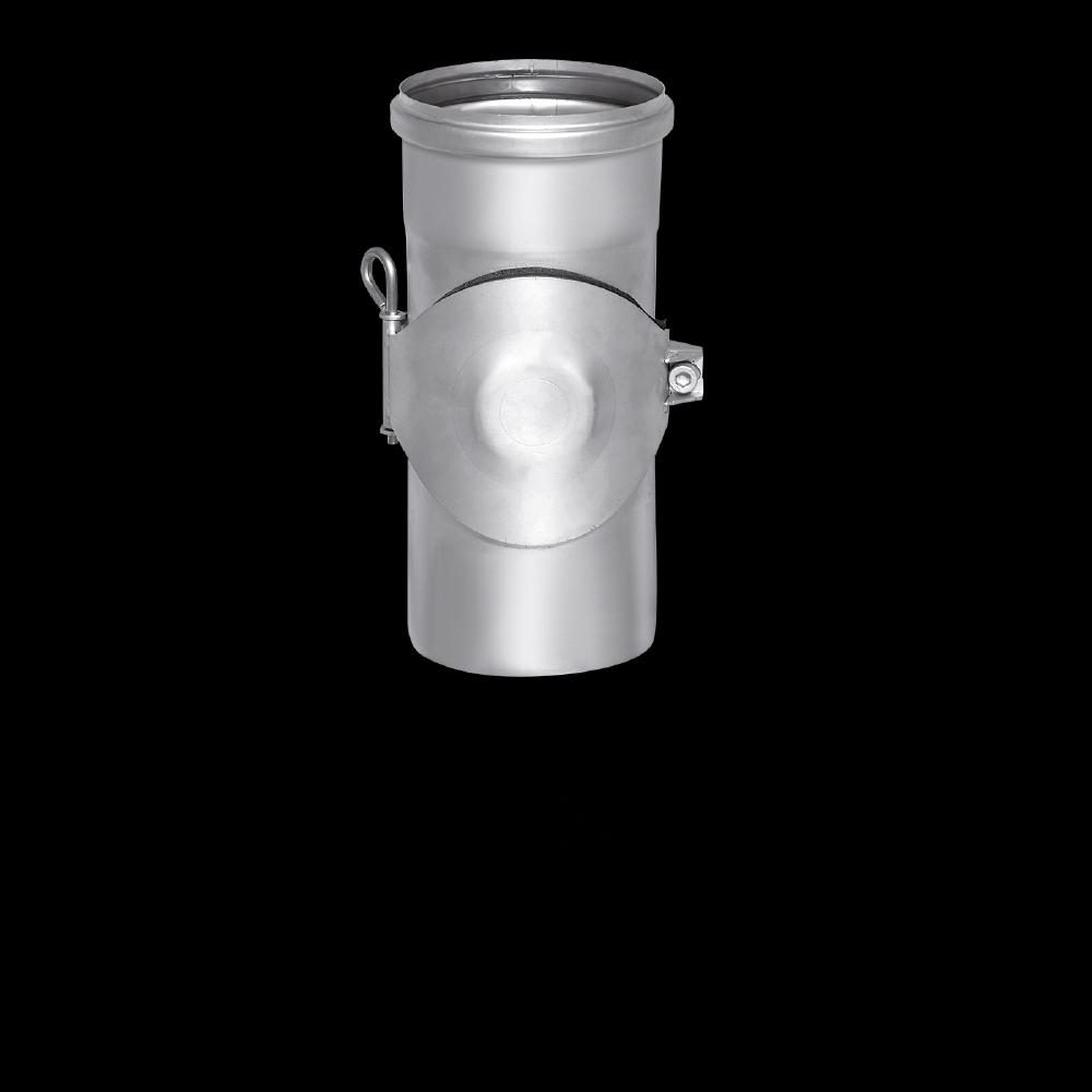 SitaPipe Edelstahl DN 150 - Reinigungsrohr