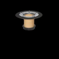 SitaDSS Profi - Schraubflansch Aufstockelement 150 mm
