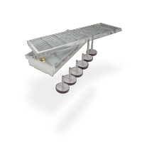 SitaDrain® Kastenrinne - Höheneinstellset 50 - 90 mm