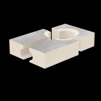 SitaStandard - abgewinkelt Dämmkörper 180 mm