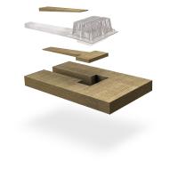 SitaTurbo - Dämmkörper Mineralwolle 100 mm