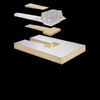 SitaTurbo - Dämmkörper Polyurethan 100 mm