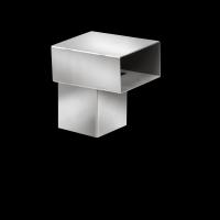 SitaTurbo - Übergangsstück auf Zink-Quadratrohr 77
