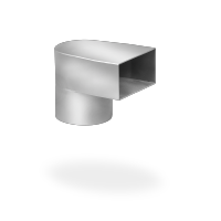 SitaTurbo - Переходник на круглую оцинкованную трубу согласно DIN EN 612