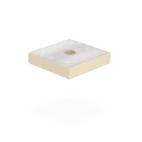 SitaVent - Grundplatte Dämmkörper DN 100