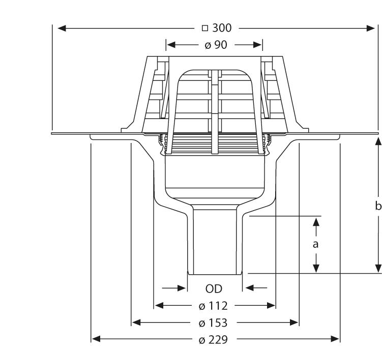 SitaCompact  - Balkon- und Terrassengully