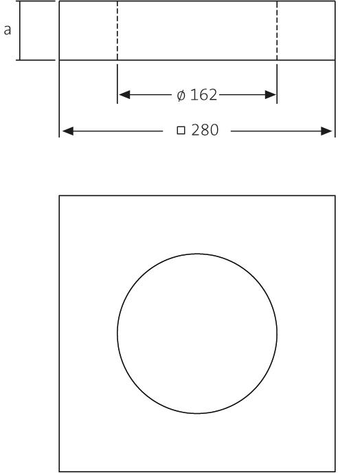 SitaDSS Multi  - Yalıtım elemanı dengeleme halkası Köpük cam