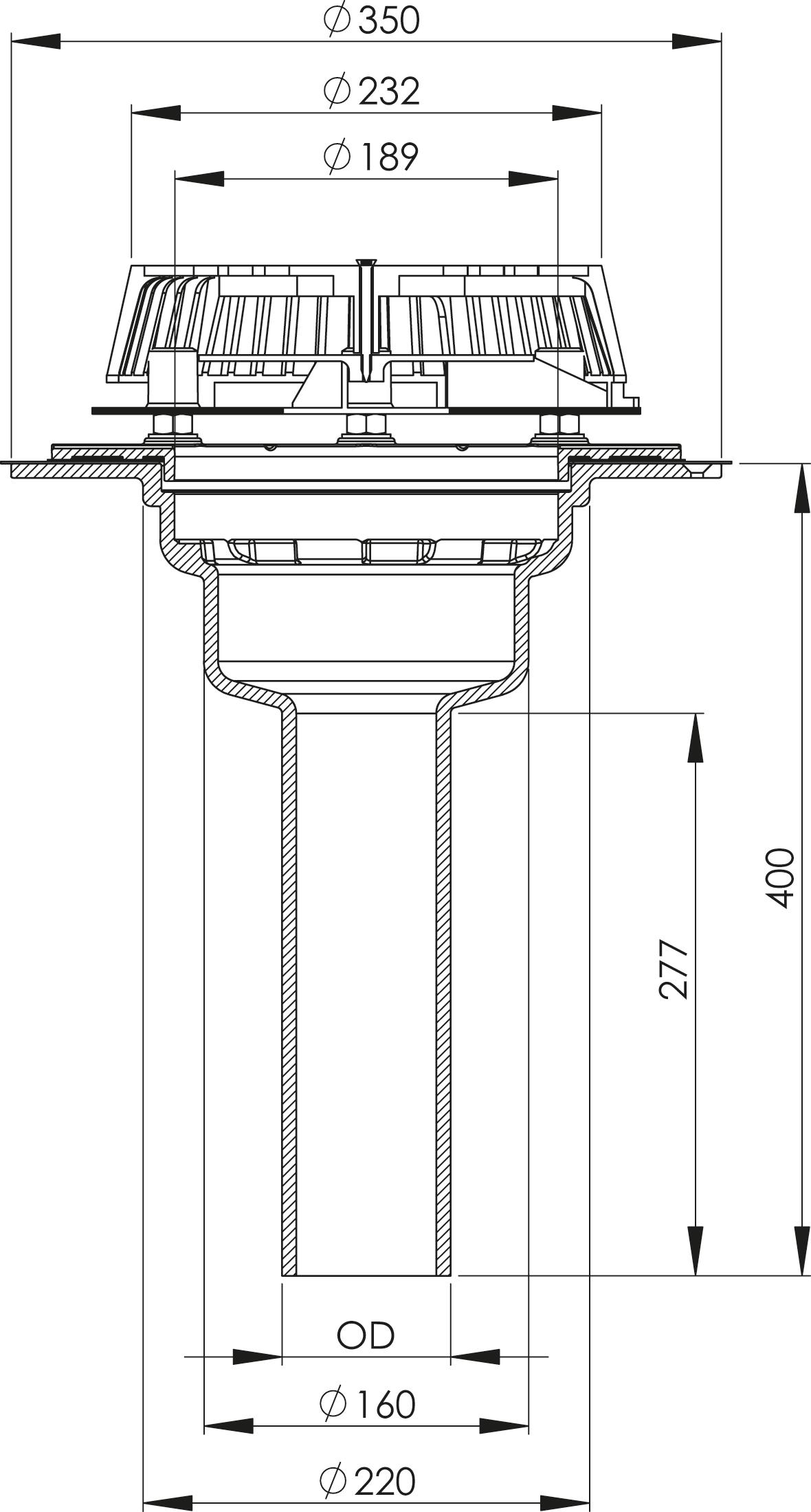 SitaDSS Multi  - Druckströmungsgully