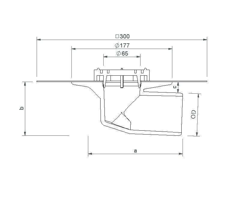 SitaMini  - Воронка для балконов и террас
