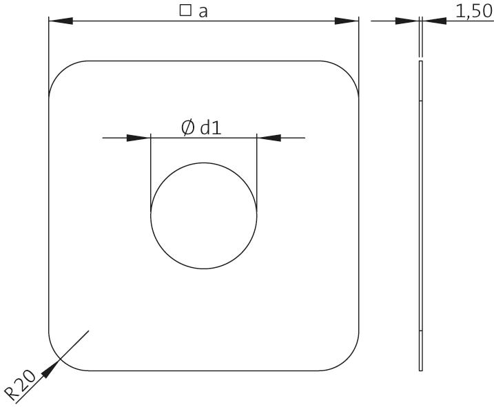 SitaAttika  - Cephe kapak plakası