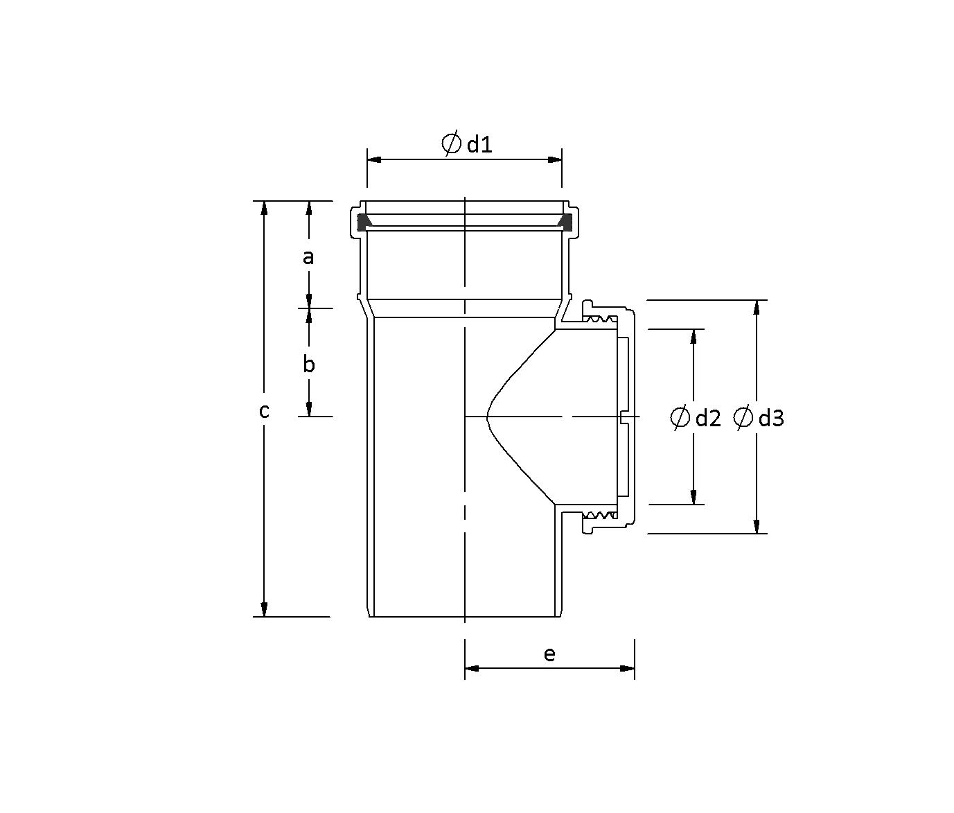 SitaPipe PP  - Reinigungsrohr