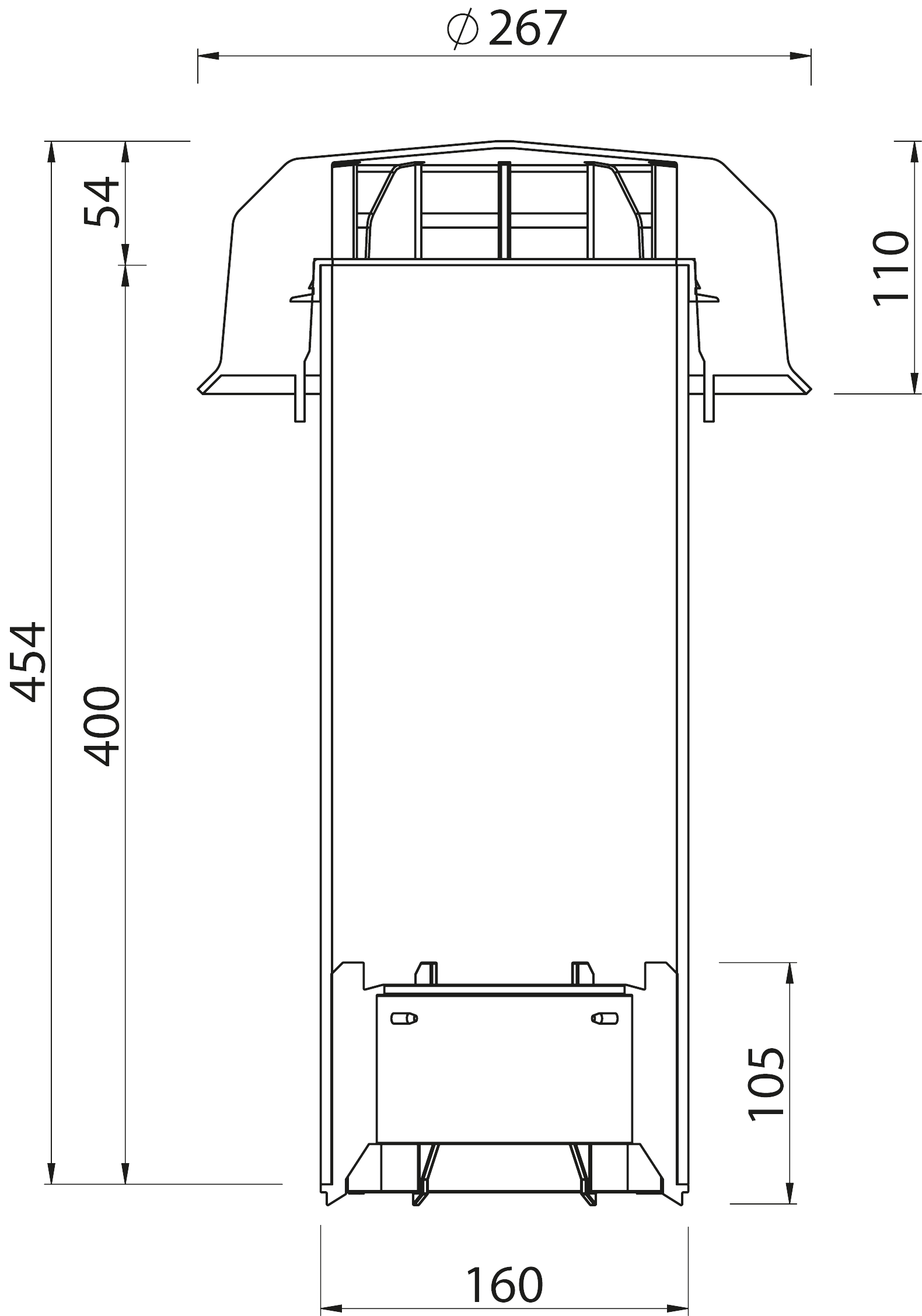 SitaVent  - Kondensat deflektörü