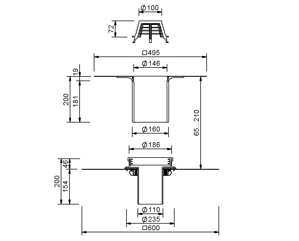 SitaFireguard® DN 100 - Brandschutzgully