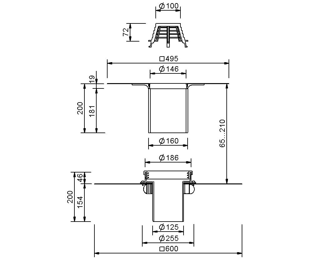 SitaFireguard® DN 125 - Brandschutzgully