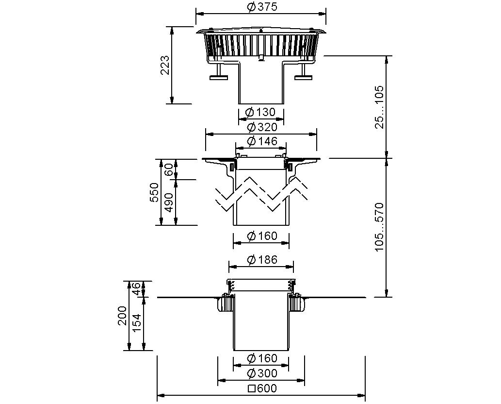 SitaFireguard® DN 150 - Brandschutzgully