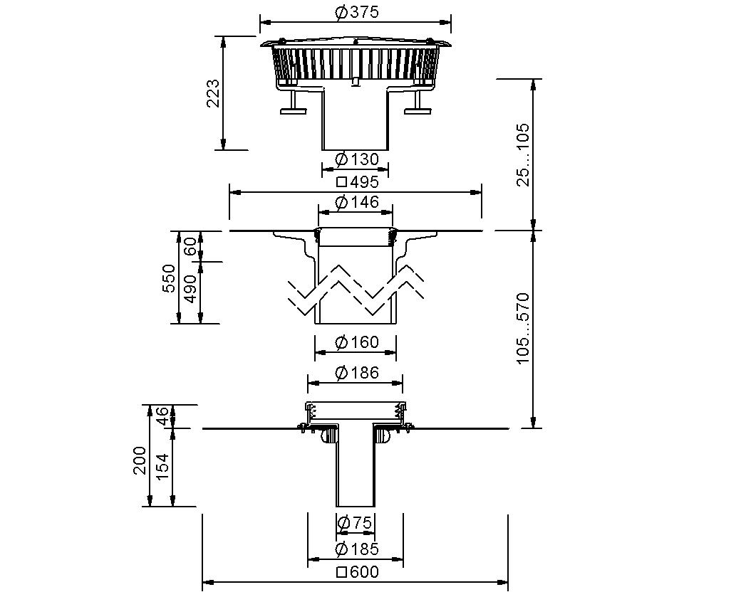 SitaFireguard® DN 70 - Brandschutzgully