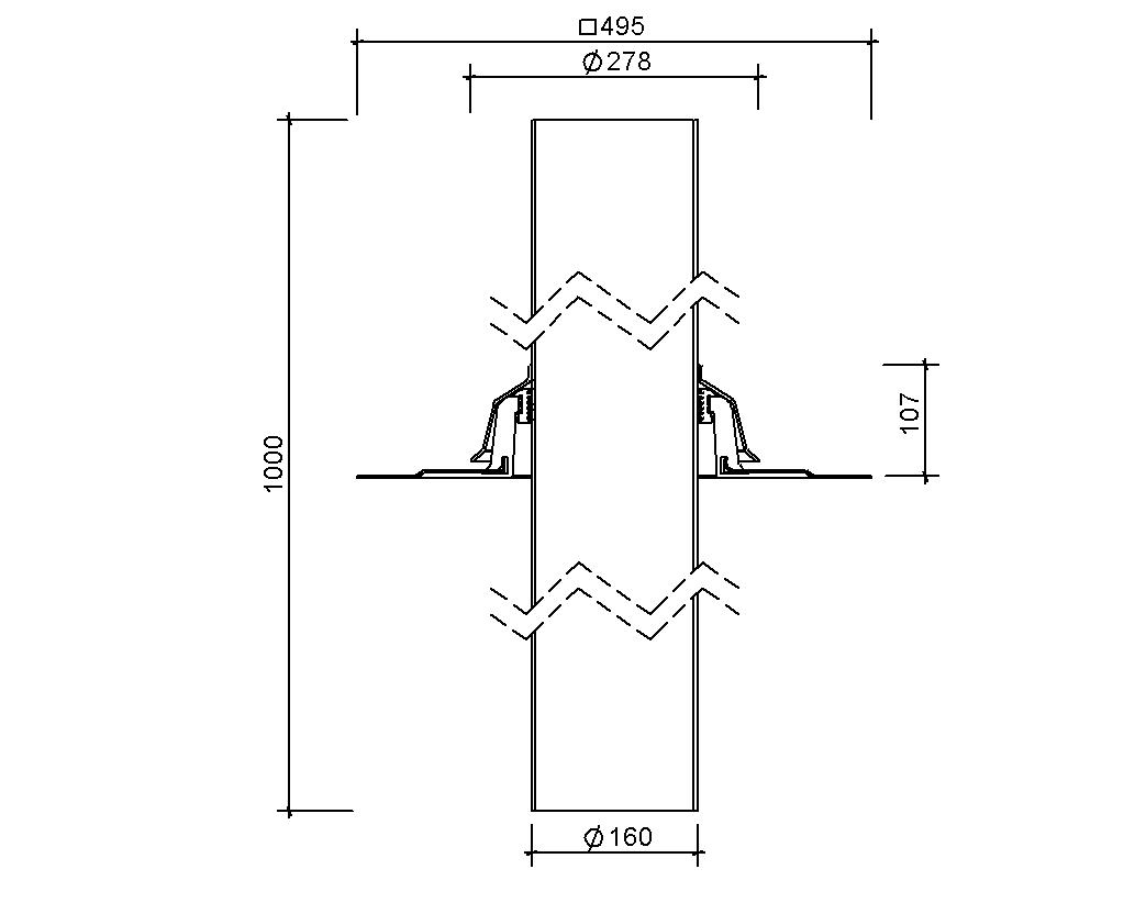 SitaVent Systemlüfter DN 150 - Lüftung
