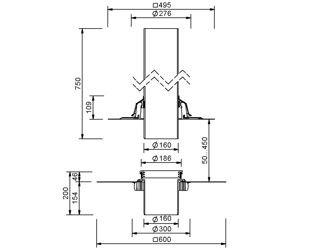 SitaVent Fireguard® DN 150 - Brandschutzlüfter